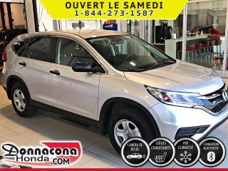 Used 2016 Honda CR-V LX *BALANCE DE GARANTIE* BAS MILLAGE* for sale in Donnacona, QC