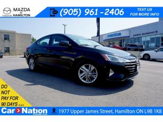 Used 2019 Hyundai Elantra PREFERRED | SUNROOF | REAR CAM | APPLE CARPLAY for sale in Hamilton, ON