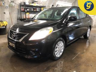 Used 2012 Nissan Versa SV * Climate control * Power windows/locks/mirrors * Rear defrost * Intermittent wipers * Rear child door locks * Rear fold down seats* Heated mirrors for sale in Cambridge, ON
