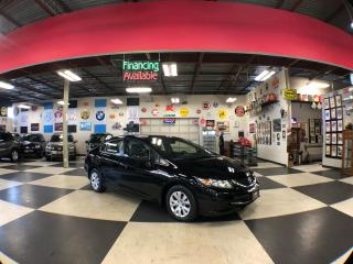 Used 2014 Honda Civic Sedan LX AUT0 A/C H/SEATS BACKUP CAMERA BLUETOOTH 121K for sale in North York, ON