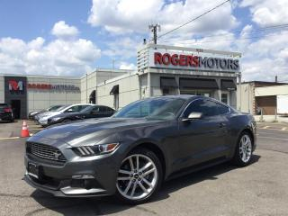 Used 2016 Ford Mustang ECOBOOST - 6SPD - NAVI - LEATHER - CAMERA for sale in Oakville, ON