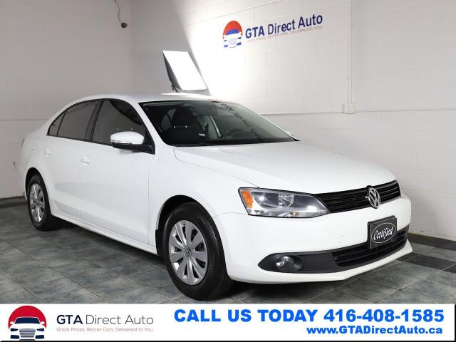 2014 Volkswagen Jetta Trendline+ TDI Alloys 6-Speed Heated Certified