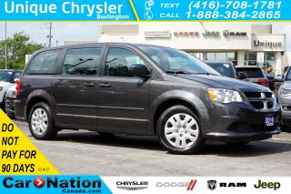 Used 2016 Dodge Grand Caravan SE/CVP| DUAL CLIMATE| 3RD ROW STOW N'GO & MORE for sale in Burlington, ON