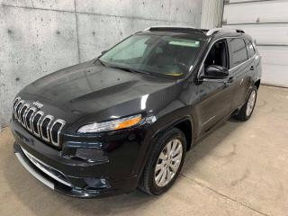 Used 2016 Jeep Cherokee Overland V6 GPS Toit Panoramique CUIR Camera Recul Volant et Sièges Chauffants +++ for sale in St-Nicolas, QC