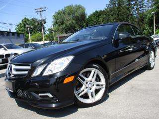 Used 2011 Mercedes-Benz E-Class E550 CONVERTIBLE|NAVIGATION|73,000KM|5.5L|LOW KMS for sale in Burlington, ON