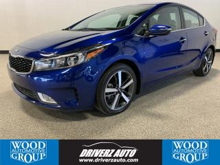 Used 2018 Kia Forte EX Luxury ONE OWNER, CLEAN CARFAX, LEATHER SEATING for sale in Calgary, AB