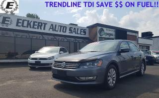 Used 2013 Volkswagen Passat Trendline  SAVE $$ ON FUEL!! for sale in Barrie, ON