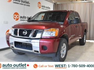 Used 2013 Nissan Titan Sv, 5.6L V8, 4x4, Crew cab, Short box, Tow mode, Cloth seats, Backup camera for sale in Edmonton, AB