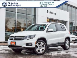 Used 2016 Volkswagen Tiguan COMFORTLINE!! LOADED!! LEATHER + ROOF for sale in Pickering, ON