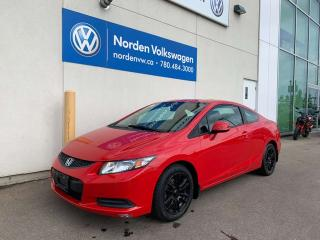 Used 2013 Honda Civic Cpe LX COUPE! - AUTOMATIC for sale in Edmonton, AB