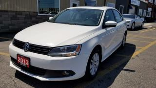 Used 2013 Volkswagen Jetta Comfortline-SUNROOF-LOCAL TRADE-HEATED SEATS for sale in Tilbury, ON