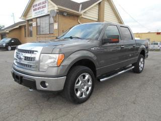 Used 2013 Ford F-150 XLT Crew Cab 4X4 XTR 5.0L V8 Leather 5.5Ft Box for sale in Rexdale, ON