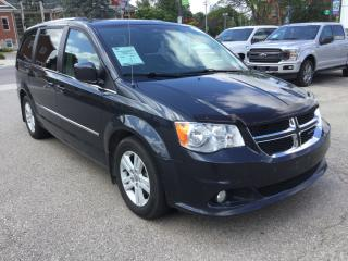 Used 2014 Dodge Grand Caravan Crew | Accident Free | Sun Roof for sale in Harriston, ON