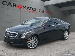 Used 2015 Cadillac ATS COUPE / LEATHER / ROOF / 58KM for sale in Cambridge, ON