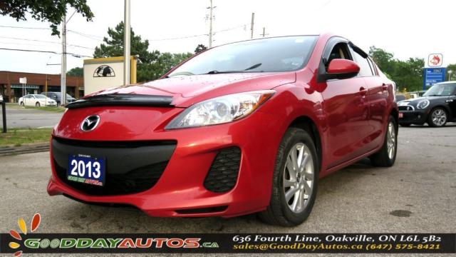 2013 Mazda MAZDA3 GS-SKY|LOW KM|NO ACCIDENT|BLUETOOTH|REMOTE STARTER