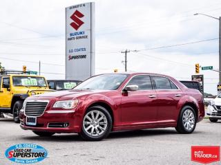 Used 2011 Chrysler 300 Limited ~Nav ~Panoramic Roof ~Heated Leather for sale in Barrie, ON