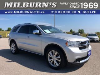 Used 2012 Dodge Durango Crew Plus 4x4 for sale in Guelph, ON