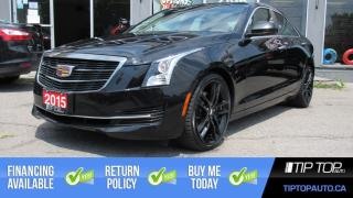 Used 2015 Cadillac ATS 2.5L ** Brand New Tires, Leather, Sunroof ** for sale in Bowmanville, ON