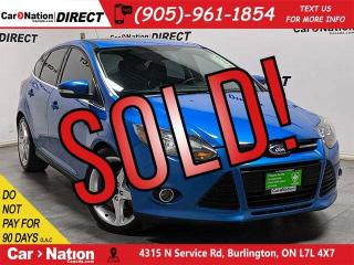 Used 2012 Ford Focus Titanium| LOCAL TRADE| SUNROOF| NAVI| LEATHER| for sale in Burlington, ON