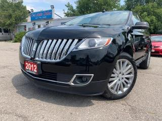 Used 2012 Lincoln MKX AWD 4dr w/ Leather, Navigation, Sunroof & Camera for sale in Brampton, ON