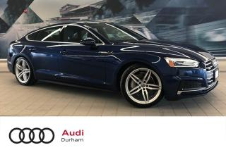 Used 2018 Audi A5 2.0T Progressiv + S-Line | Rear Cam | CarPlay for sale in Whitby, ON