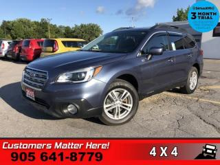 Used 2015 Subaru Outback 2.5i  AWD CAM HS BT 17 -ALLOYS for sale in St. Catharines, ON