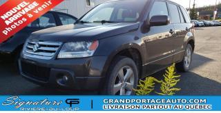 Used 2012 Suzuki Grand Vitara for sale in Rivière-Du-Loup, QC