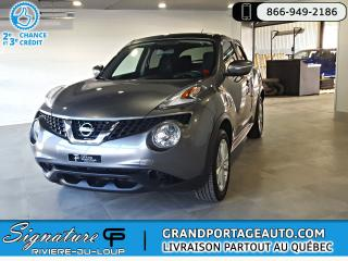 Used 2016 Nissan Juke SV FWD Auto *CLEAN* for sale in Rivière-Du-Loup, QC