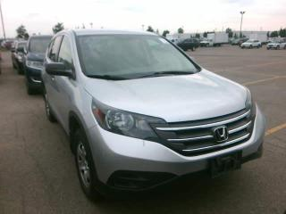 Used 2014 Honda CR-V LX for sale in Winnipeg, MB