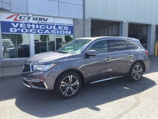 Used 2019 Acura MDX Tech-SH AWD NAV CUIR TOIT NOUVEL ARRIVAGE for sale in St-Hubert, QC