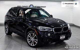 Used 2016 BMW X5 xDrive35i -1OWNER|LOW KMS|NO ACCIDENTS| 3RDROW | HUD for sale in Newmarket, ON
