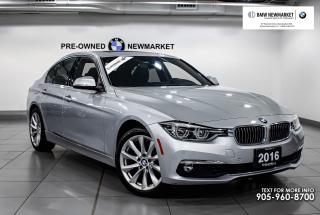 Used 2016 BMW 328i xDrive Sedan -1OWNER|BACK UP CAM|HEATED STEERING| for sale in Newmarket, ON