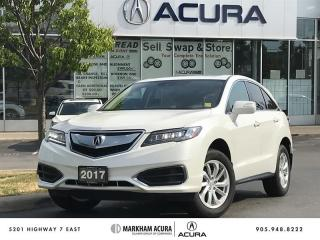 Used 2017 Acura RDX Tech at AWD, Navi, Power Liftgate for sale in Markham, ON