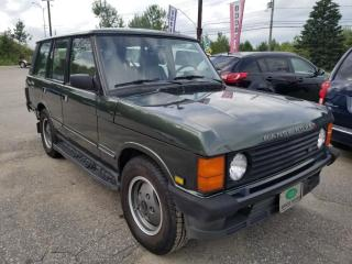 Used 1993 Land Rover Range Rover for sale in Mascouche, QC