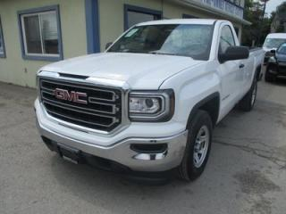 Used 2018 GMC Sierra 1500 LIKE NEW SLE MODEL 3 PASSENGER 5.3L - V8.. TWO-WHEEL DRIVE.. REGULAR CAB.. 8-FOOT BOX.. BACK-UP CAMERA.. BLUETOOTH SYSTEM.. for sale in Bradford, ON