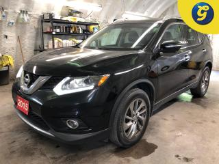 Used 2015 Nissan Rogue SL * AWD * Navigation * Sunroof * Leather interior *  Phone connect * Voice recognition * Power rear lift gate * Forward collision warning * Lane assi for sale in Cambridge, ON