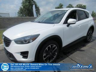 Used 2016 Mazda CX-5 GT AWD - Leather, Sunroof, Navigation, Rear Camera, Bluetooth, Alloy Wheels and more! for sale in Guelph, ON