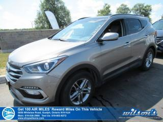 Used 2018 Hyundai Santa Fe Sport Luxury AWD - Leather, Navigation, Sunroof, Heated Steering + Seats, Rear Camera,Bluetooth and more! for sale in Guelph, ON