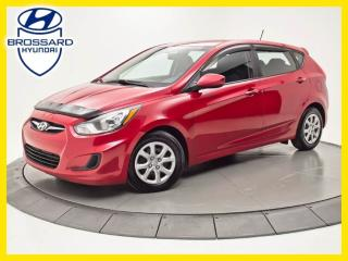 Used 2014 Hyundai Accent GL, SIÈGES CHAUFFANTS, BLUETOOTH, CRUISE for sale in Brossard, QC