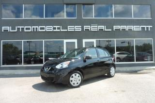 Used 2015 Nissan Micra S -AUTOMATIQUE - AIR CLIMATISÉ - GARANTIE - for sale in Québec, QC