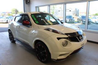 Used 2014 Nissan Juke NISMO TA MANUELLE GPS CAMÉRA MAIN LIBRE for sale in Lévis, QC