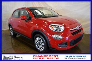Used 2016 Fiat 500 X Pop +Financement Facile et Rapide+ for sale in Cowansville, QC