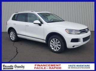 Used 2014 Volkswagen Touareg 3.0 TDI-Toit pano-Cuir-Navigation for sale in Cowansville, QC