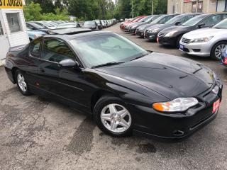 Used 2002 Chevrolet Monte Carlo SS/ 3.8 L/ AUTO/ LEATHER/ SUNROOF/ ALLOYS! for sale in Scarborough, ON