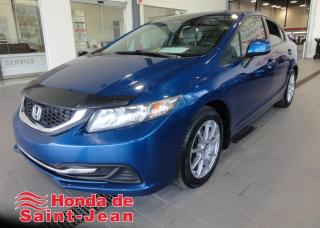 Used 2013 Honda Civic LX 4 portes, boîte automatique for sale in St-Jean-Sur-Richelieu, QC