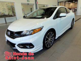 Used 2015 Honda Civic 2 portes, , Si Navi Toit Camera Mags for sale in St-Jean-Sur-Richelieu, QC