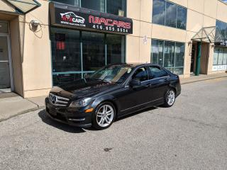 Used 2013 Mercedes-Benz C-Class C 300**NAVIGATION**CERTIFIED** for sale in North York, ON