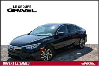 Used 2017 Honda Civic EX - Toit ouvrant - Mags - Camera recul - for sale in Ile-des-Soeurs, QC