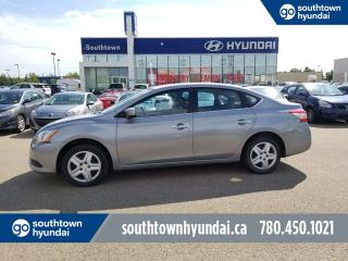 Used 2014 Nissan Sentra SV/BLUETOOTH/PUSH START BUTTON/POWER OPTIONS for sale in Edmonton, AB