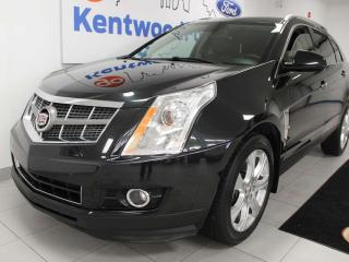 Used 2011 Cadillac SRX Performance 3.0 AWD SRX4 with sunroof, heated/cooled power leather seats for sale in Edmonton, AB